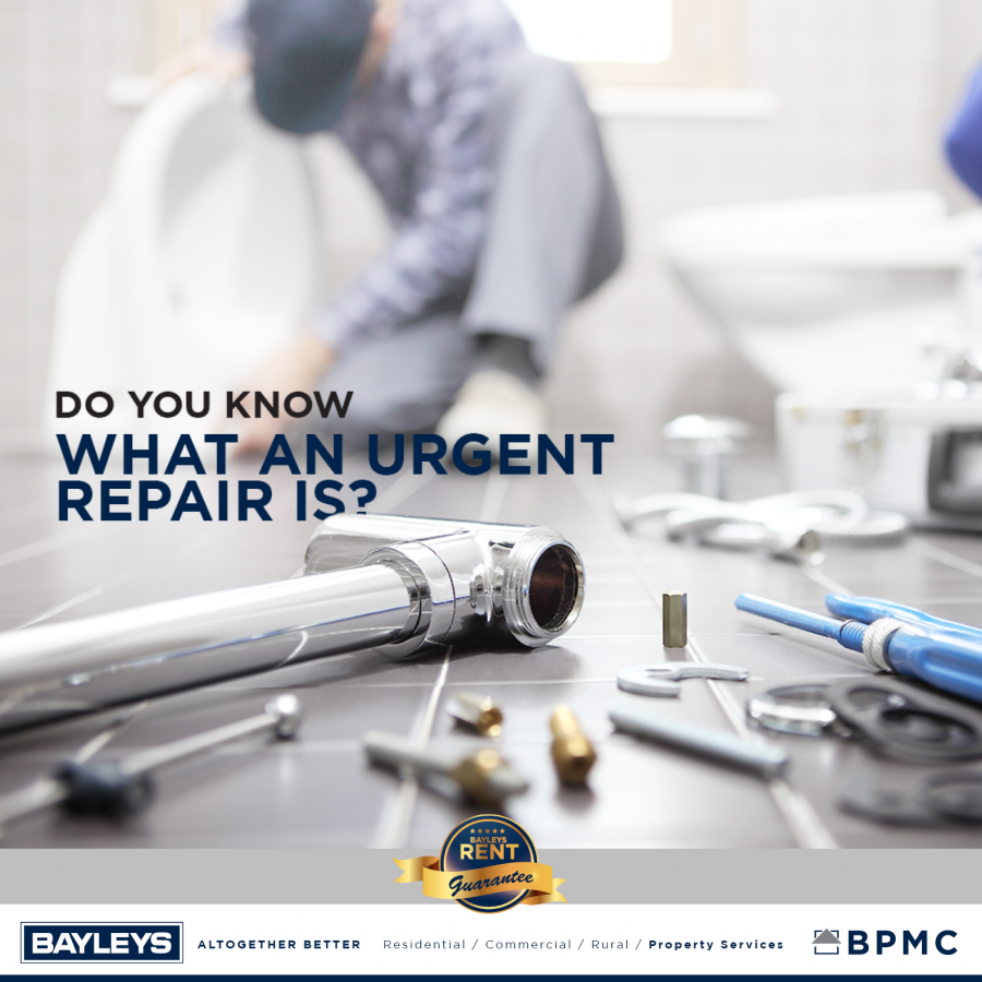 DO YOU KNOW WHAT AN URGENT REAPAIR IS?